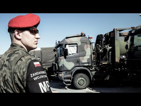On the road with NATO forces in Poland |🇵🇱