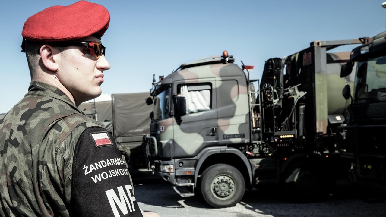 Polish Military Police – On the Road with NATO Forces
