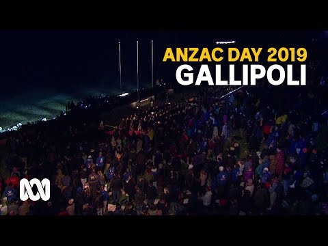 Anzac Day 2019 - Gallipoli Dawn Service