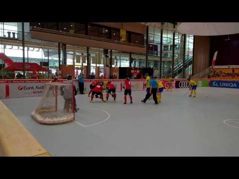 SOWWG2017 Graz/AT - Floor Hockey - SO Hong Kong vs SO Sweden - final seconds