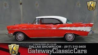 1957 Chevrolet Bel Air Stock #414-DFW Gateway Classic Cars of Dallas