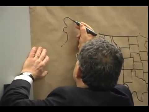 Al Franken Draws Us Map For Middle Schoolers Original Youtube - Al-franken-draws-us-map