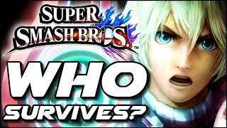 Super Smash Bros WHO CAN SURVIVE Shulk's Counter? (Wii U)