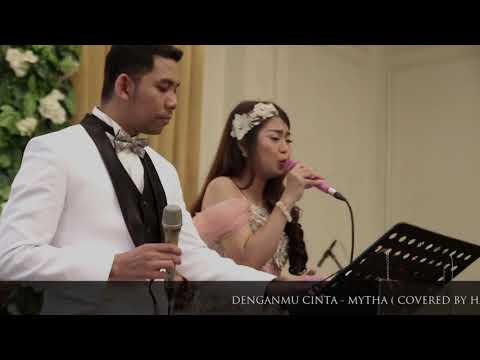 DENGANMU CINTA - MYTHA ( COVERED BY HARMONIC MUSIC ) - HARMONIC MUSIC BANDUNG