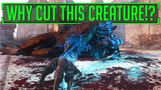WHY Did Bethesda Cut Their BEST Creature From Fallout 4!?