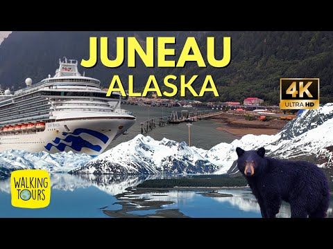 Juneau Alaska Cruise Port | 4K Ultra HD Walking Tour