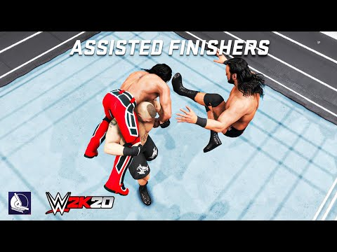 Top 25 Assisted Finishers in WWE 2K20  