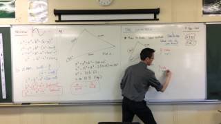 The Cosine Rule (3 of 3: How to tell which rule to use)