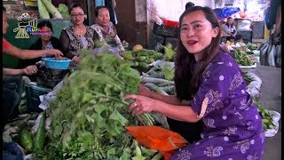 Sikkim Organic Market || Fresh Vegetables || Lal Market in Gangtok, Sikkim ....
