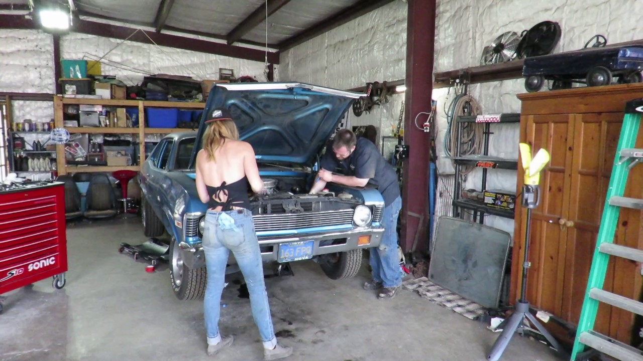In The Shop With Emily Flying Sparks Garage Youtube