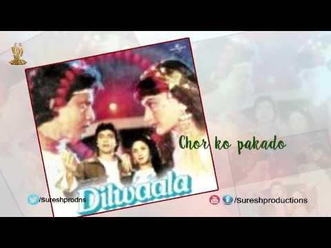 Chor ko pakado  Jukebox  Dilwala  Mithun Chakraborty, Smita Patil, Meenakshi Sheshadri
