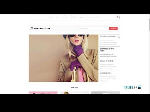 Roosevelt - Responsive WordPress Blog Theme        | Free Template  U