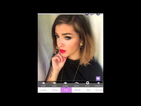 How to do a perfect selfie using YouCam Makeup app