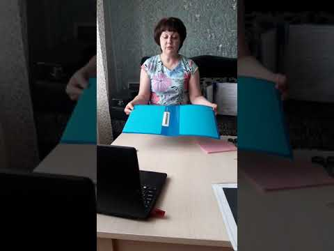 Как сделать папку передвижку для детского сада своими руками фото пошагово