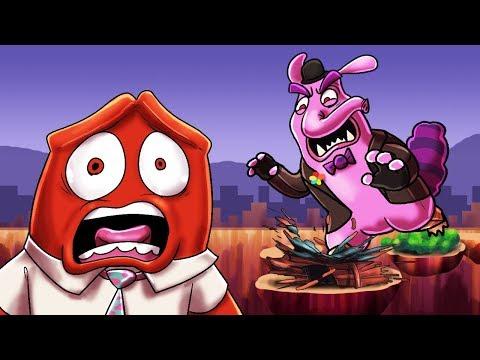 Minecraft | INSIDE OUT BASE CHALLENGE! (Bing Bong.EXE vs Base) thumbnail