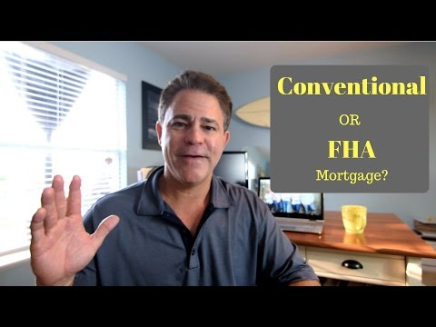 FHA versus CONVENTIONAL- NEW updated info