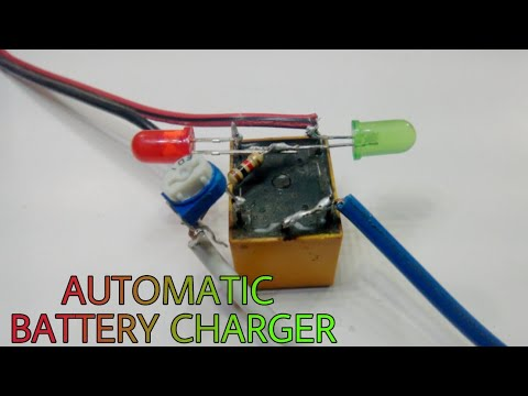 automatic 12v battery charger how to make auto cut off. Black Bedroom Furniture Sets. Home Design Ideas