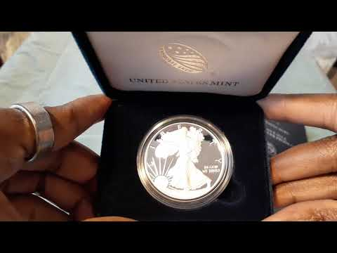 The 2020 American Silver Eagle Proof Coin The First Silver Coin Purchase Of 2020!