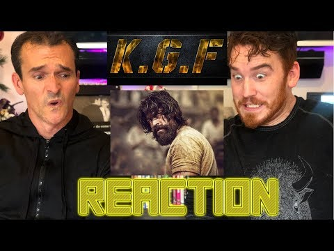 KGF | Yash | Srinidhi Shetty | Kannada | Trailer Reaction!