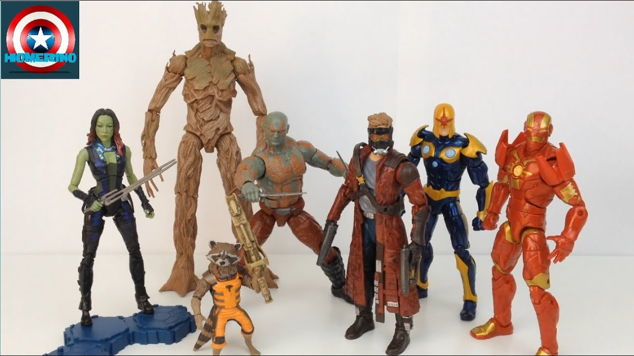 Marvel Legends Build A Figure List