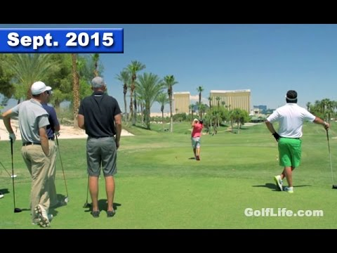 Golf Show visits Las Vegas, Golf & Gambling and Golf Instruction