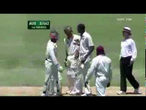 Sulieman Benn V Australians -Cricket Fight