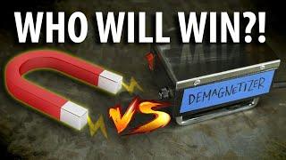 SHOWDOWN! Magnet Vs Demagnetizer!