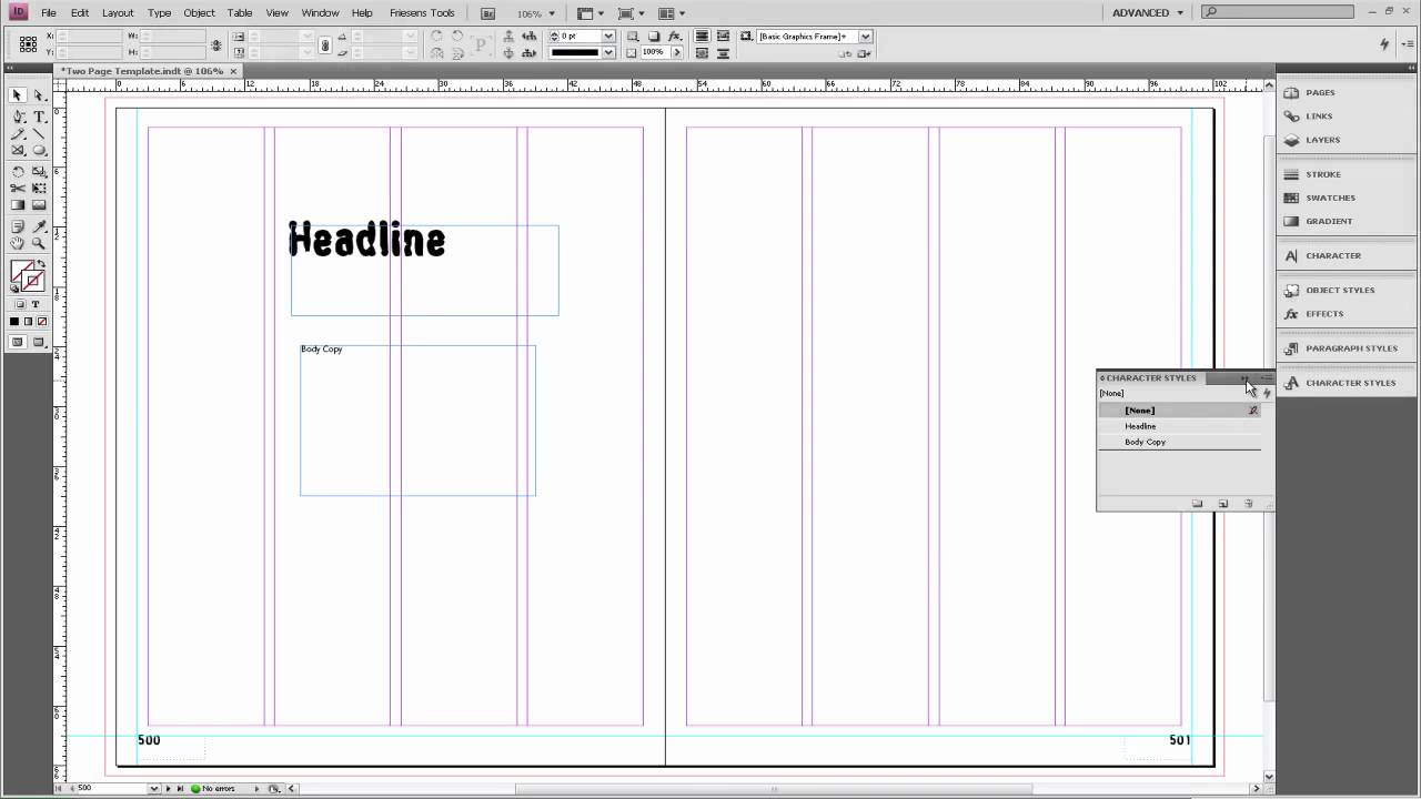 Friesen Yearbooks Help Series- Extra Customization on a Two Page ...
