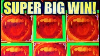 ★SUPER BIG WIN! SURPRISE!★ 🧛‍♂️ VAMPIRE'S EMBRACE G+ DELUXE Slot Machine Bonus (WMS)