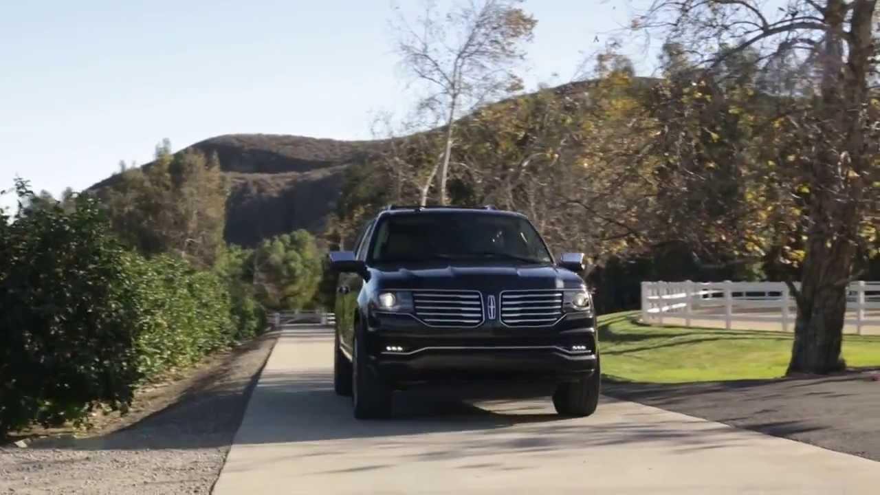 2014 yeni Lincoln Navigator yol sürüş videosu