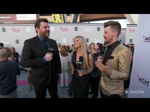 2017 ACM Awards: Chris Young Red Carpet Interview