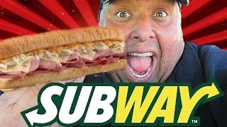 Subway® Corned Beef Reuben Sandwich REVIEW!