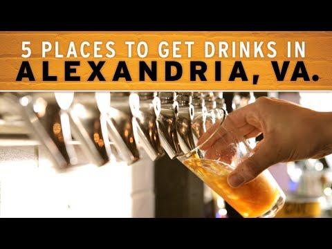 5 Places to Get Drinks in Alexandria, VA