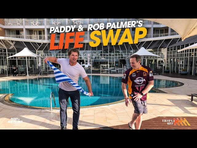 Paddy & Rob Palmer's Life Swap | Triple M
