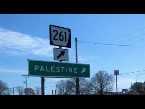 """Palestine"": Not just a place in Texas (There's a Palestine, Arkansas too.)"