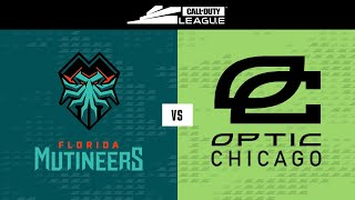 @Florida Mutineers vs @OpTic Chicago | Stage I Super Week | Day 7
