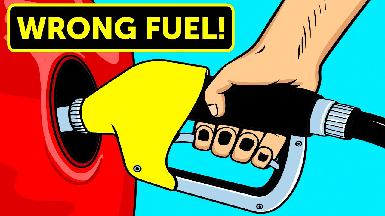 That's What Happens When You Put the Wrong Fuel in a Car - YouTube