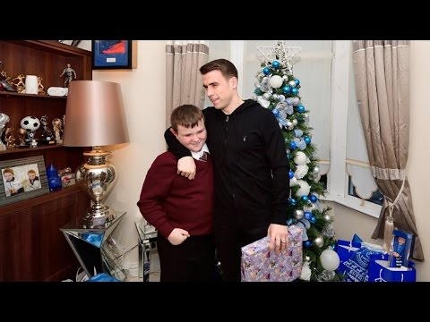 Seamus Coleman's Christmas surprise for brave Blue Will