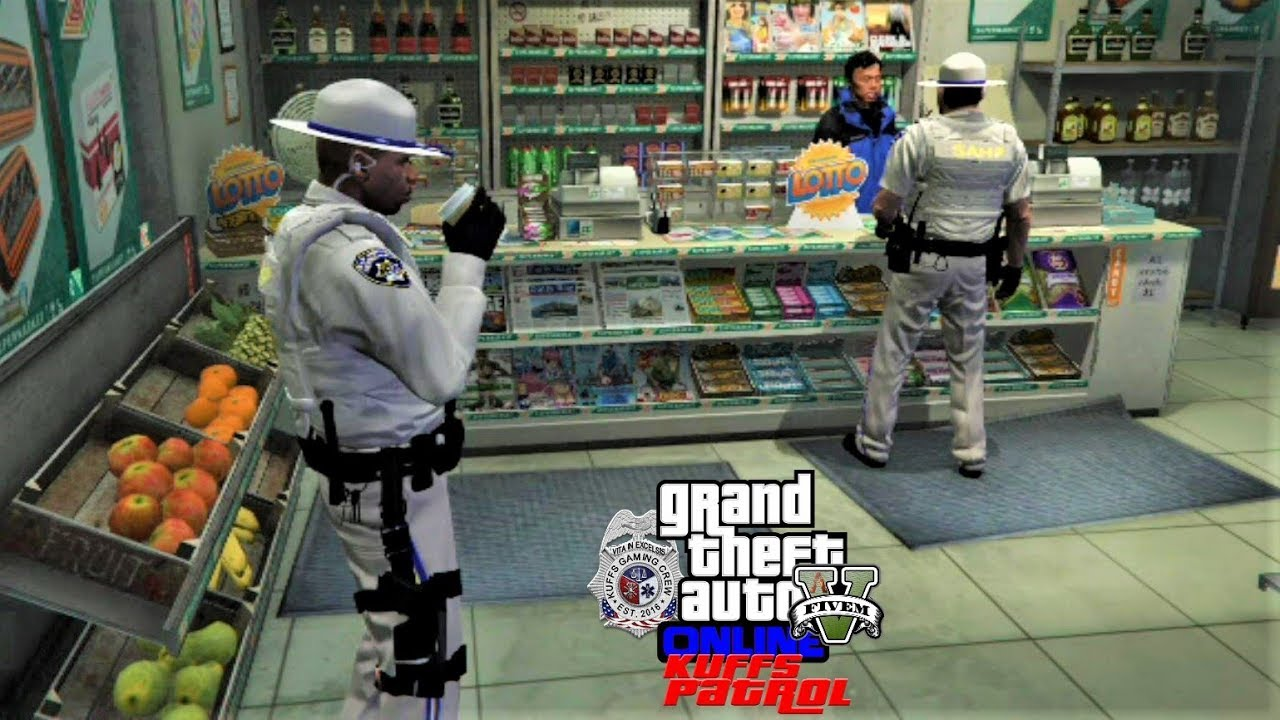 GTA 5 Roleplay Classic KUFFS #329 $37 50 For A Cup of Cofee & Two Donuts