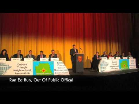 San Francisco Mayoral Debate At The Historic Castro Theater