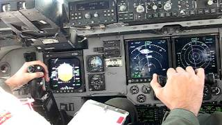 C-17 Refueling - Watching the pilot fly