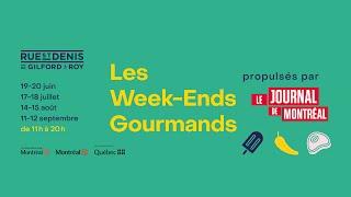 Les Week-End Gourmands propulsés par Le Journal de Montréal