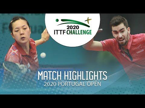 Emmanuel L./Yuan Jia N. Vs Tristan F./Laura G.   2020 ITTF Portugal Open Highlights (Final)