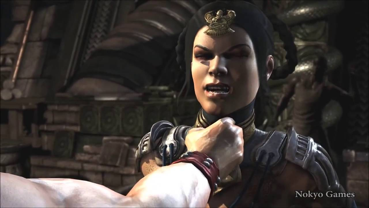 Mortal Kombat X All Fatalities On Kitana No Mask Ryona Hq Youtube