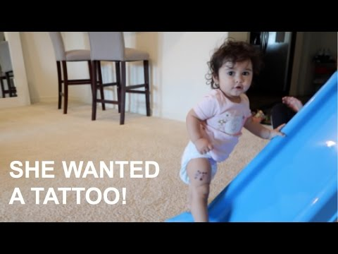 BABY GETS A TATTOO!!!