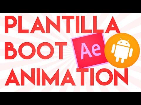 Plantilla Bootanimation After Effects - Personalizala A Tu Gusto