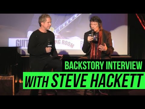 BackStory Presents: Steve Hackett Live Interview from The Cutting Room