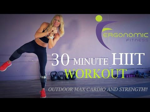 30 MINUTE TABATA HIIT WORKOUT OUTDOOR CARDIO AND STRENGTH (FIT 2)