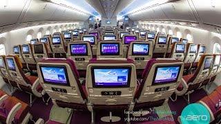 Thai Airways Boeing 787-8 Dreamliner Cabin Tour