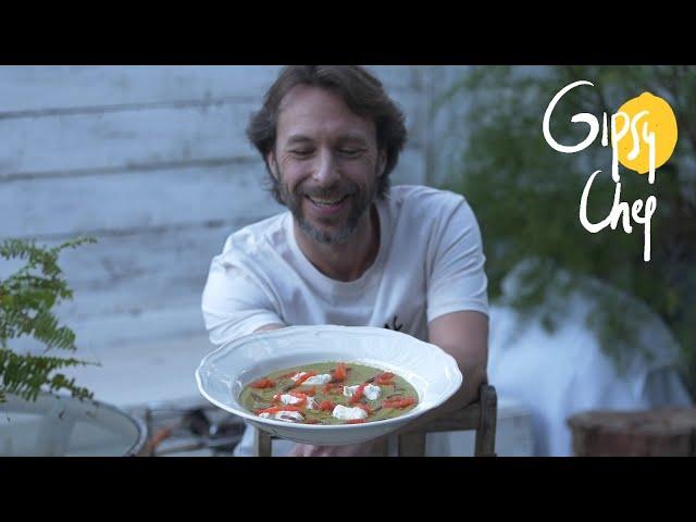 La crema de guisantes más tremenda de Gipsy Chef